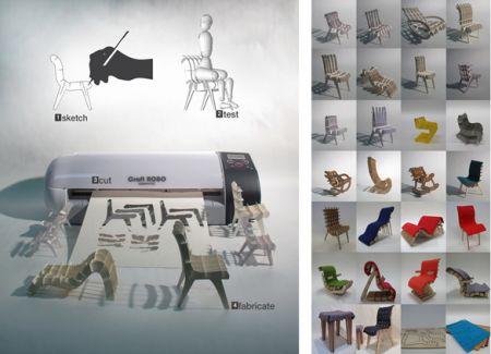 Arredamento: come progettare la tua sedia
