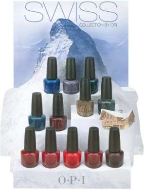 Swiss Collection by OPI