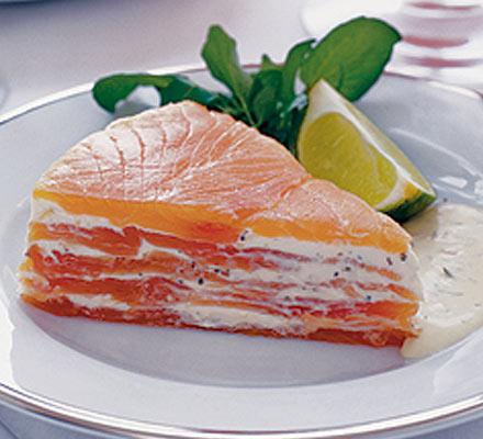 tortino di salmone