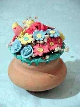 Pasta di sale: come fare i vasi di fiori