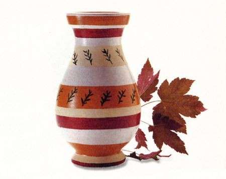 Come decorare vasi di coccio in stile etnico