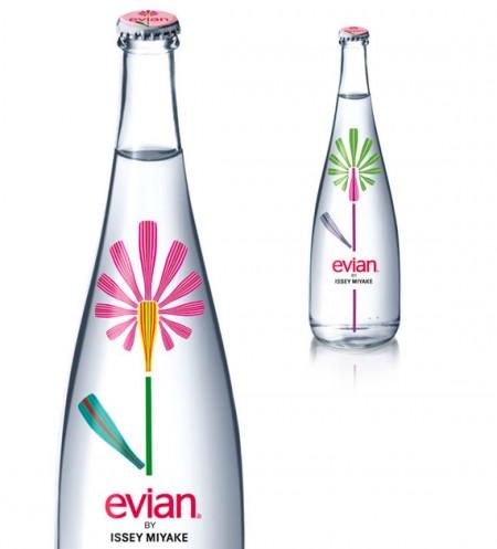 Evian disegnata da Issey Miyake