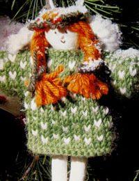 Lavori a maglia: come realizzare l'angioletto di Natale