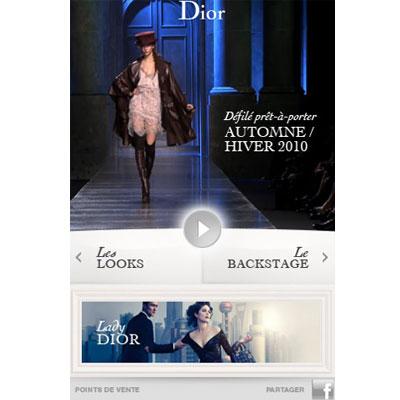 app iphone dior