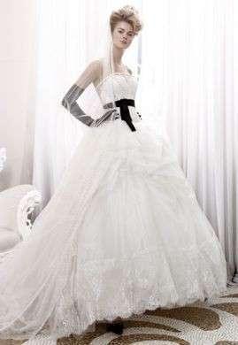 Abiti da sposa 2011: lo stile bianco e nero di Atelier Aimée Montenapoleone