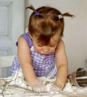 Pasta di sale per bambini