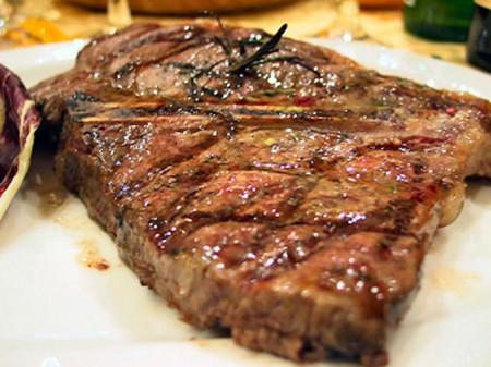 bistecca cottura dolce