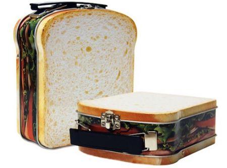 Pranzo a sacco: lunch box a forma di toast