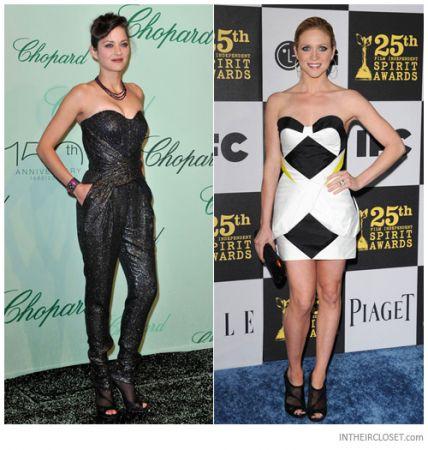 celebrities jimmy choo marble mesh booties