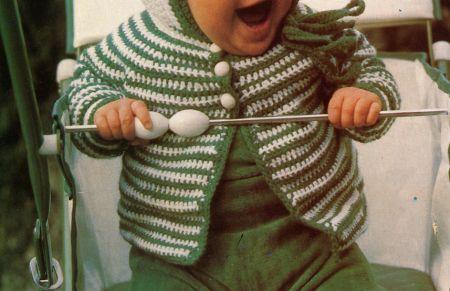Schemi Uncinetto Un Golfino Per Il Bebè Pourfemme