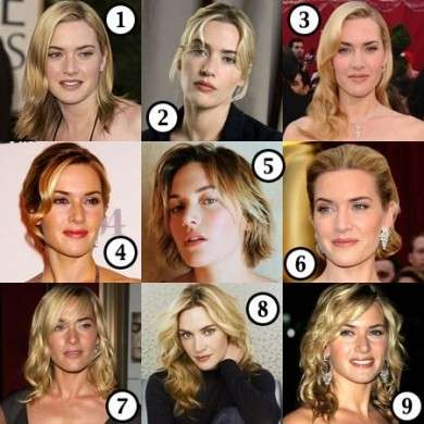Acconciature capelli: le metamorfosi di Kate Winslet