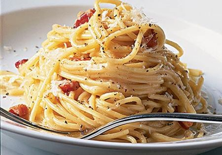 Pasta light: carbonara leggera e digeribile