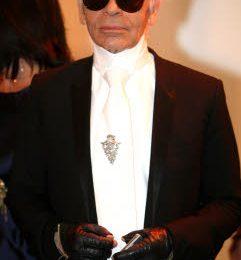 Karl Lagerfeld presenta a Parigi la collezione per Hogan