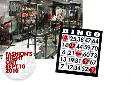 Fashion Night Out: da Lanvin si gioca al bingo