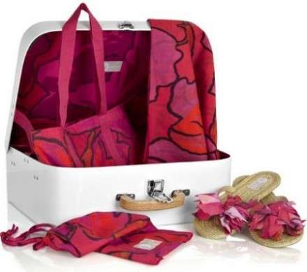 lanvin suitcase honeymoon set