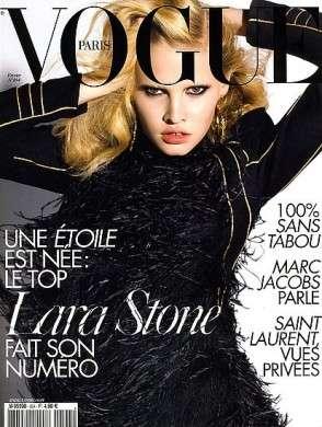 Lara Stone per Vogue Paris