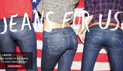 Levi's: con Curve ID valorizza i corpi femminili