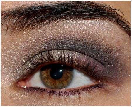 Make up occhi: grigio sensuale