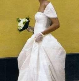Abito bianco e nozze vip per Marina La Rosa