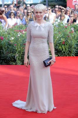 Michelle Williams con un abito Jason Wu a Venezia