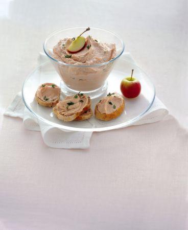Ricette antipasti: mousse rosa alla robiola