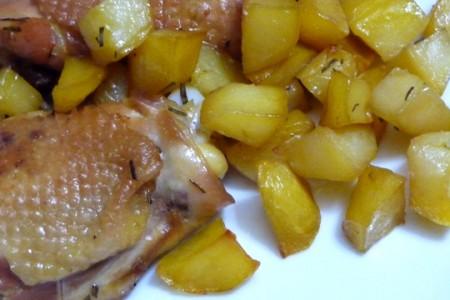Ricette light: pollo al forno con patate
