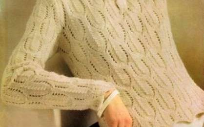 Lavori a maglia: come realizzare un pullover ricco di trafori