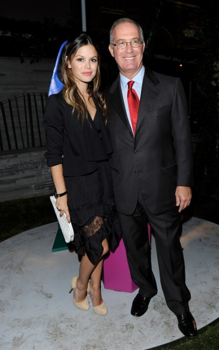 Rachel Bilson al party da Bulgari per la collezione con Matthew Williamson