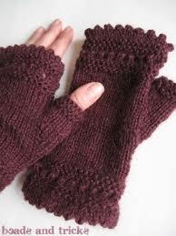 Schemi maglia: scaldamani reversibili