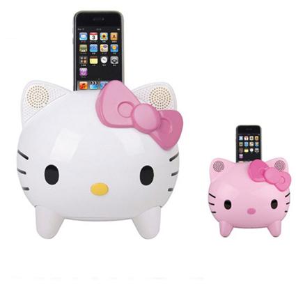 Hello Kitty accessori: Speaker per iPod e iPhone