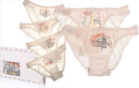 Stella McCartney: la lingeria formato postcard