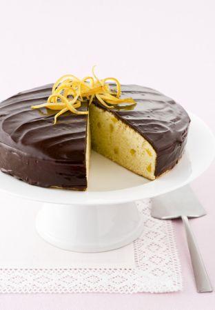 torta limone ricoperta