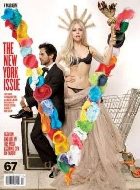V Magazine: Lady Gaga e Marc Jacobs in copertina