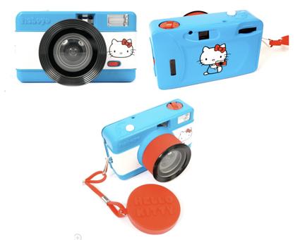 Hello Kitty accessori: macchina fotografica analogica