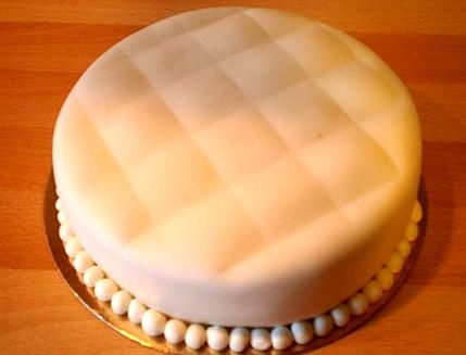Ricoprire torta pasta di zucchero