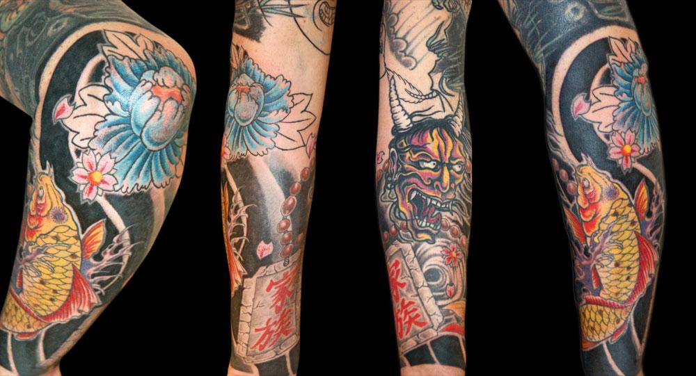 Tatuaggi maori giapponesi