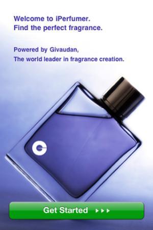 app iPhone iperfumer