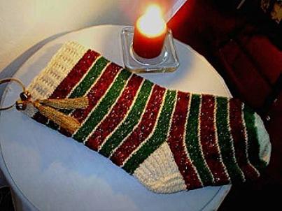 calza Natale lana