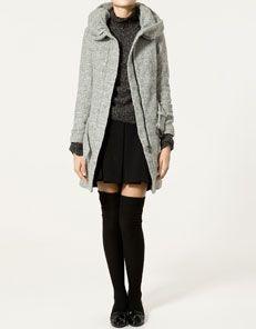 cappotto cappuccio colleggiale