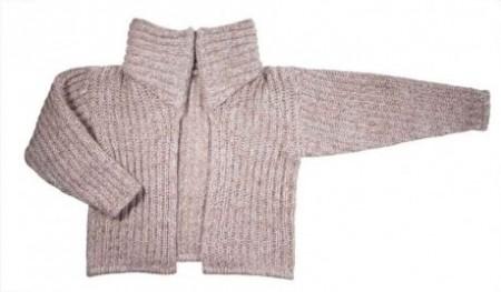 Schemi maglia: cardigan a costa inglese