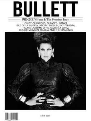 Cindy Crawford stella di Bullett Magazine