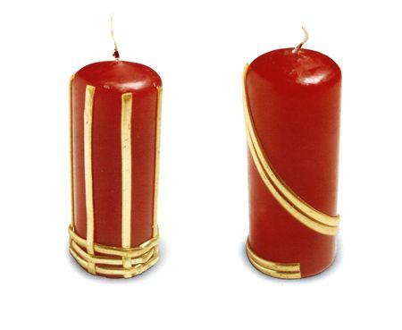 decorazioni candele natale