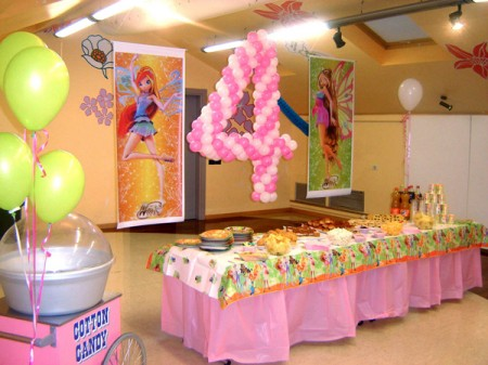 organizzare una festa di compleanno per bambini foto