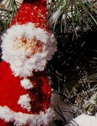 Schemi maglia: Babbo Natale in lana