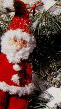 decorazioni natalizie babbo natale
