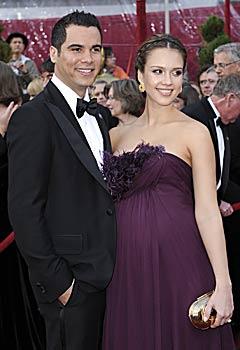 Donna incinta Jessica Alba