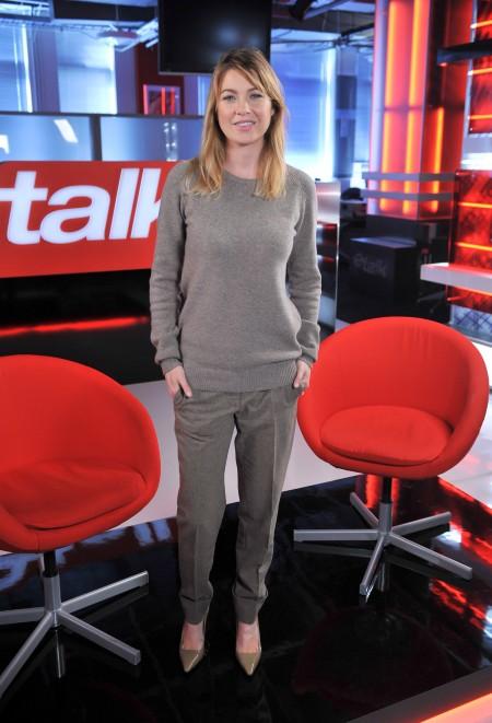 Ellen Pompeo: total look in Stella McCartney