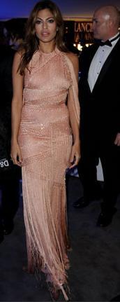 """Atelier Versace: Eva Mendes alla premiere di """"Last Night"""" a Roma"""