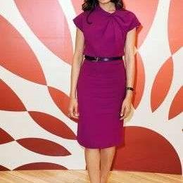 Ferragamo: il total look di Freida Pinto