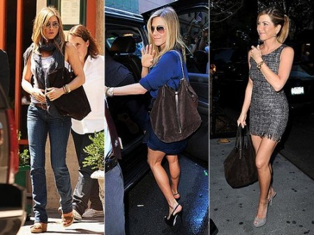 Jennifer Aniston pazza per la sua shopper Tiffany & Co.